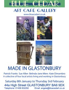 Made in Glastonbury 2011 poster A4