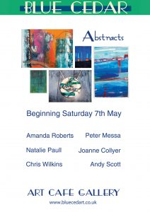 Abstract Exhibition Poster