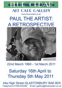 Paul the Artist 2011 poster lowres