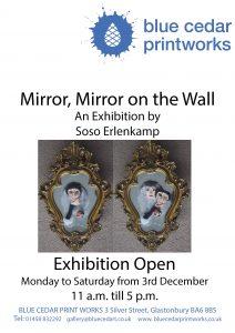 Poster Mirror Mirror on the Wall Soso Erlenkamp